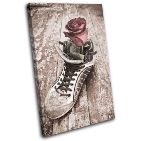 Rose Shoe Love Vintage - 13-1227(00B)-SG32-PO